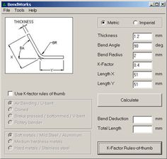 """This is a great 9 page PDF entitled """"BendWorks: the fine art of Sheet Metal Bending"""". This is a basic guide to the main processes involved in sheet metal bendin Sheet Metal Brake, Sheet Metal Art, Metal Bending Tools, Metal Working Tools, Welding Table, Metal Design, Design Design, Sheet Metal Fabrication, Metal Shaping"""