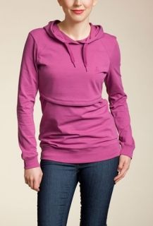 BOOB nursing hoodie! Wear during and after your pregnancy! LOVE IT!