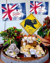 Australia Day party invitations and decorations Australian Party, Australian Food, Australian Recipes, Aussie Bbq, Aussie Food, Pink Lake, 50th Birthday Party Themes, Happy Birthday, Birthday Wishes