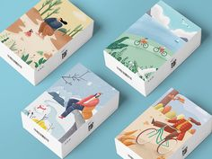 Packing box designed by Damon for New Beee. Connect with them on Dribbble; the global community for designers and creative professionals. Packing Box Design, Packing Boxes, Tea Packaging, Brand Packaging, Design Packaging, Packaging Design Inspiration, Branding Design, Damon, Package Design