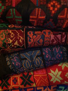 Bedouin embroidery