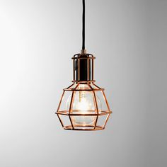 Work Lamp Cuivre, Design House Stockholm