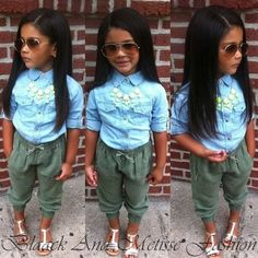 the CoOl Kids - kids fashion - Organize in Little Girl Outfits, Cute Outfits For Kids, Little Girl Fashion, Cute Little Girls, Toddler Outfits, Cute Kids Fashion, Toddler Fashion, Kid Swag, Baby Swag