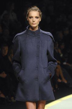 Daria Werbowy at Versace _