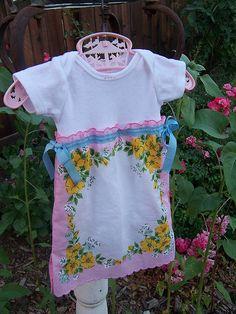 handkerchief dress by katie jean, via Flickr
