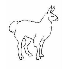 llama coloring pages llama coloring page