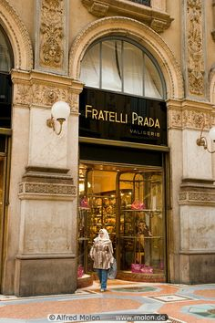 Prada, Milan, Italy. Would definitely love to be here, let alone shop!