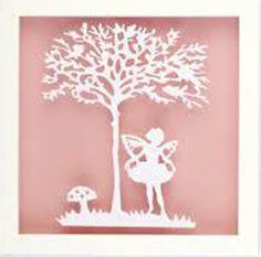 Fairy Paper Cut Art