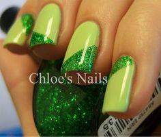 St. Patty's Day nails