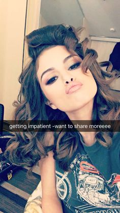 Selena Snapchat (She did a cover of Let Me Love You by Justin Bieber.) July 31, 2016.
