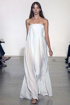 Jil Sander Spring 2008 Ready-to-Wear Fashion Show - Serafima Vakulenko