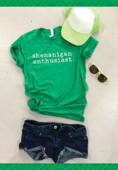 0889cc46 Shenanigan enthusiast | green tee | St Patrick's Day t-shirt | funny shirt  | #affiliate