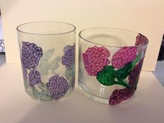 Dishing With Janet: The .25 cent project--Hydrangeas Blog Hop - by Janet Moran