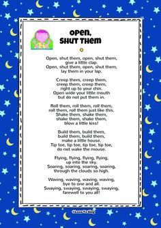 Open Shut Them Song is part of Classroom songs - Open Shut Them Song NurseryRhymes WithActions Kids Video Songs, Songs For Toddlers, Fun Songs, Children Songs, Toddler Songs With Actions, Children Rhymes, Kindergarten Songs, Preschool Music, Preschool Lessons