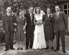 Italian-Irish Wedding, 1941