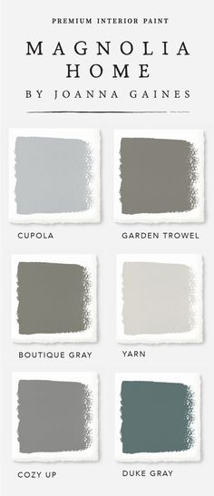 These gorgeous farmhouse style interior paint colors from designer Joanna Gaines' Magnolia Home Paint collection will have you reaching for your paintbrush in no time. Check out the rest of the collection to find the color palette that expresses your unique sense of style today.