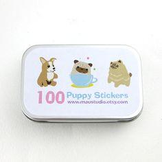 100 Random Dog Stickers  maustudio