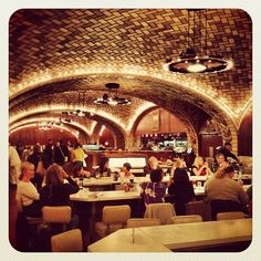 We tip our hat to you, Grand Central Oyster Bar, for being the most democratic of all oyster joints in the city. Bridge and tunnelers, old and young, sophisticated and not can all feel right at home in this classic establishment. Bring your dad.