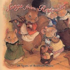 Redwall Songs CD cover