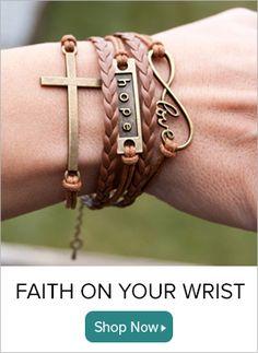Christian Bracelets | Christian Jewelry | Christian Gifts