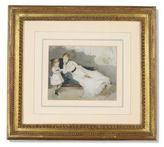 BERTHE MORISOT (1841-1895) Modern Art, Contemporary Art, Rare Wine, Berthe Morisot, Impressionist Art, Event Calendar, Art Day, American Art, 21st Century
