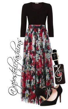 """Apostolic Fashions #1206"" by apostolicfashions on Polyvore featuring Precis Petite, Dolce&Gabbana, Akribos XXIV and Kate Spade"