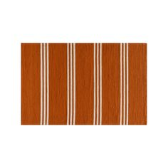 Momeni Veranda Striped Indoor Outdoor Rug, Orange #OutdoorRugs