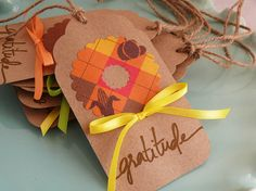 Thanksgiving Wreath Tags by ZoBeDesigns on Etsy, $7.00