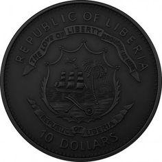 10 Dollars Republic of Liberia coin \ Coins \ blogspot.com - funcrawler