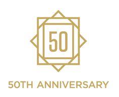 Scandinavian Designs 50th Anniversary Logo by Brian Neumann, via Behance