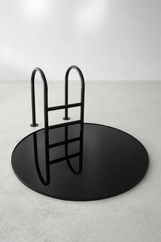 black art sculpture by Viktor Popović Photographie Street Art, Art Conceptual, Modern Art, Contemporary Art, Instalation Art, Sculpture Metal, Modern Sculpture, Robert Rauschenberg, Art Furniture