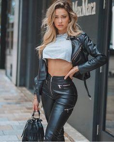 Calças Jeans Feminina Adultas Cintura Alta Hot Pant Laycra