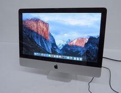 "Apple iMac A1311 21.5"" Intel Quad-Core i5 2.5GHz 4GB RAM 500GB MC309LL/A 2011"