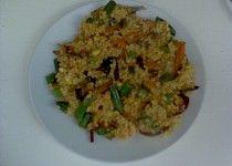 Jáhly se zeleninou Risotto, Grains, Rice, Ethnic Recipes, Bulgur, Seeds, Laughter, Jim Rice, Korn