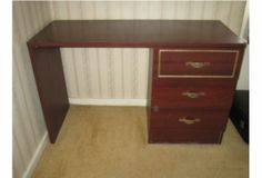 Dark brown desk, Act fast it won't be there long!