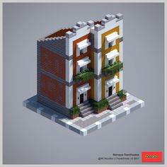 2017 ChunkWorld (Redux) - Baroque townhouses