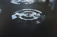 snakeskinjacket:  Analogue photograph of a glass art installation in Nantes, France.  Nantes, france 2013