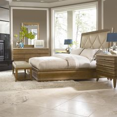 monterey bedroom by ashley | Bernhardt Monterey Platform Bed