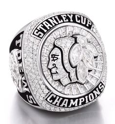 In Stock Newest NHL 2015 Replica Ice Hockey Chicago Blackhawks Stanley Cup Championship Ring From US Size 8 to. Stanley Cup Rings, 2015 Stanley Cup, Stanley Cup Champions, Blackhawks Hockey, Chicago Blackhawks, Blackhawks News, Chicago Chicago, Hockey Baby, Ice Hockey