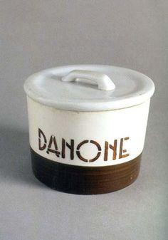#Vintage #Danone #Yoghurt #Packaging Yogurt Packaging, Retro, Coffee Cans, Dog Bowls, Earthy, Packaging Design, 1, Vintage, Healthy Meals