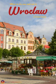Have you heard of the prettiest city in Poland? Wroclaw! Ssh, let's keep it a secret!