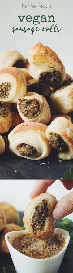 VEGAN SAUSAGE ROLLS | RECIPE on hotforfoodblog.com
