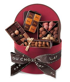 La Maison du Chocolat Hatbox Collection #Easter #gift #hamper at #Saks Fifth Avenue $190.00
