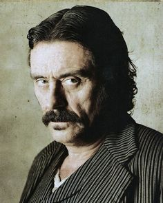 Ian McShane is an amazing character actor.  He's a true talent!  Loved him in Deadwood.