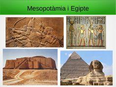 Les primeres grans civilitzacions: Mesopotàmia i Egipte. Presentació pensada per 1r d'ESO.