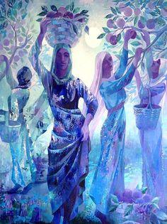 Artistas palestinos - pinturas