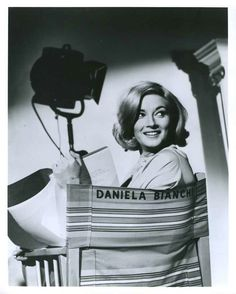 Daniela Bianchi on the set of From Russia With Love James Bond Movies, Bond Girls, Movie Props, Blade Runner, Role Models, The Incredibles, Actresses, Black And White, Celebrities