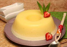 Descubra como cozinhar esta receita de doce de ananás de maneira prática e deliciosa com a TeleCulinária! Cheesecakes, Mousse, Portuguese Desserts, Fodmap Recipes, Flan, Butter Dish, Deserts, Food And Drink, Dessert Recipes