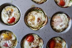 Egg Flowers: The Healthiest 15 Minute Make-Ahead Breakfast Ever