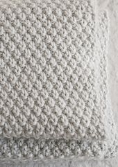 """Ravelry: Double Seed Stitch Blanket pattern by Purl Soho [   """"Double Seed Stitch Blanket - Knitting Crochet Sewing Crafts Patterns and Ideas! - the purl bee. I want to get little man a blanket like this!"""",   """"Double Seed Stitch Blanket - The Purl Bee - This pattern only works if you cast on an odd number of stitches"""",   """"Double seed stitch blanket pattern for all sizes (use as guide for stockinette or ribbed sizes blankets)"""",   """"Double Seed Stitch Blanket - knitting in huge dimensions…"""